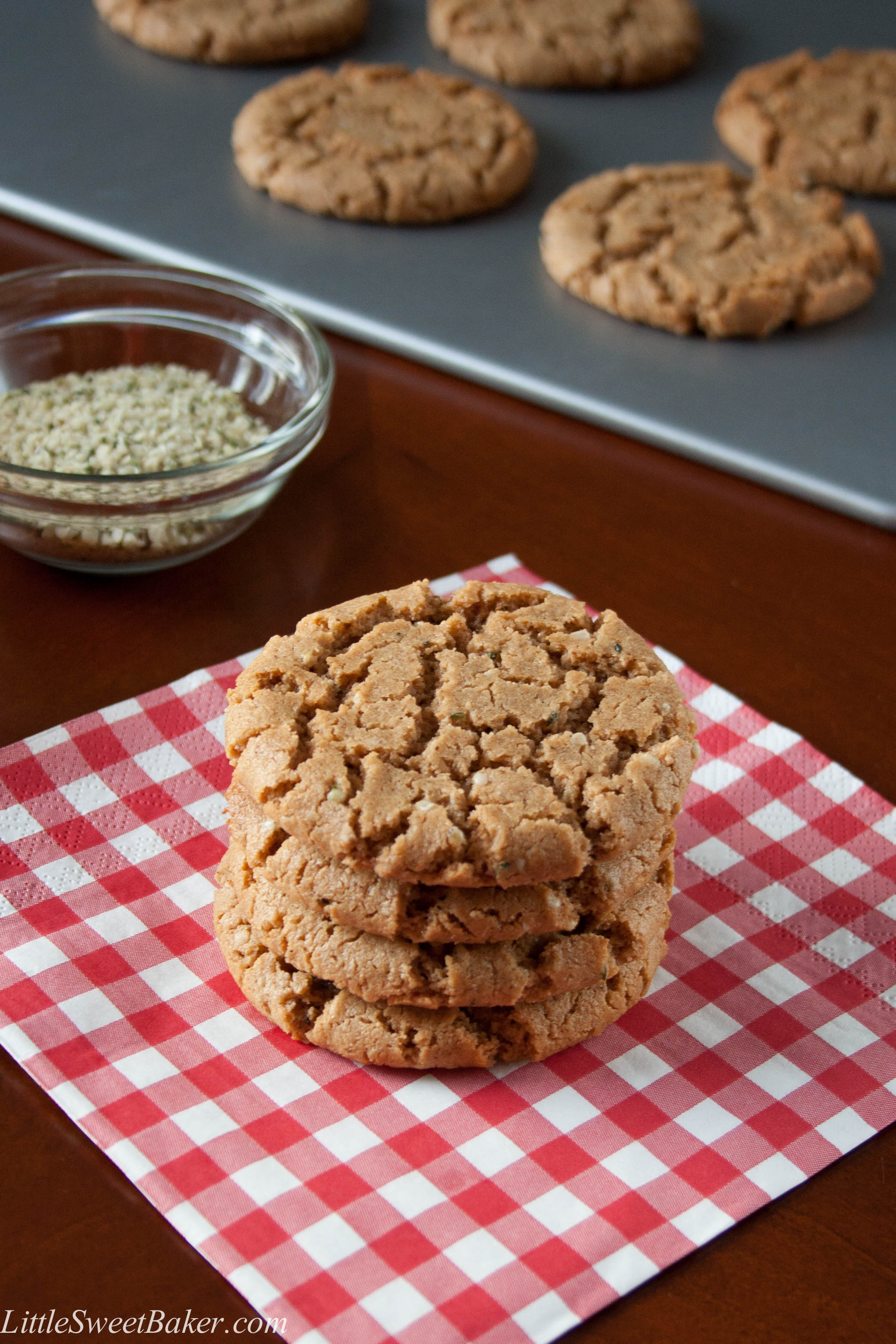 GLUTEN-FREE SPICED CASHEW BUTTER COOKIES. These chewy cookies are ...