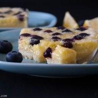 Lemon Blueberry Squares