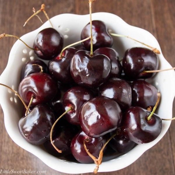 cherry chocolate chip muffins-3