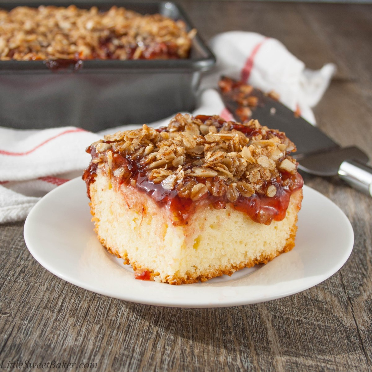 Fruit Streusel Coffee Cake