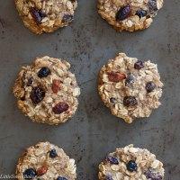 Healthy Banana Oatmeal Cookies
