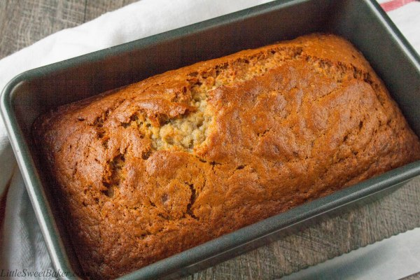 The Best Banana Bread Recipe. Quick and easy to make, just mix the wet and the dry ingredients by hand, combine, bake and enjoy. One of my favorite comfort foods.